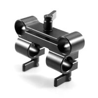 SmallRig 4 Holes 15mm Vertical Rod Clamp  For DSLR Camera Shoulder Rig - 922 SM