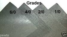 "20 Lustersheen steel wool 9""x11"" sanding sheets~cut to size for fine polishing"