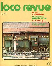 LOCO REVUE 410 DE 1979.LA C 61004 JOUEF, LE G4 ROCO