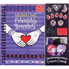 Wicked Cool Friendship Bracelets Make Your Own Spooky Jewelry Klutz Activity Kit
