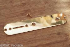 Control Plate Telecaster 32 mm Potes 8 mm Dorado Guitarra Eléctrica Gold