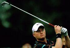 Simon Dyson HAND SIGNED Authentic Autograph Golf Player 12x8 Photo AFTAL COA