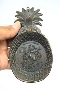 Vintage Nice Pineapple Shape Copper Souvenir Mauritius Free Gift G23-39 US
