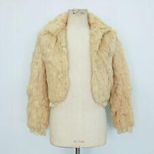 652aa7d118 Cappotti e giacche da donna beige in pelliccia taglia 38 | Acquisti ...