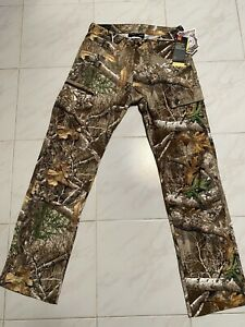 Under Armour UA Storm Field Ops Hunting Pants RealTree Edge 1313212-991 30/34