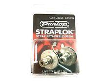 Dunlop Strap Locks - Guitar - Flush Mount Strap Retainer System Nickel