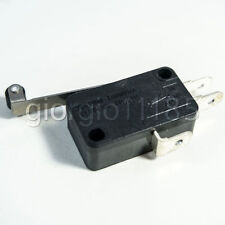 Us Stock 10pcs Roller Lever Arm Micro Switches Ac 250v Kw7 2 Hv 156 1c25