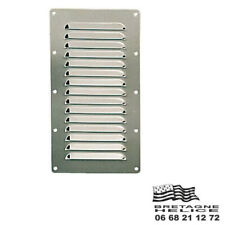Hit and Miss Ventilator Vent Grille Stainless Steel 316 232 x 5in Pb410