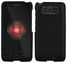 Negro de Goma Carcasa Funda Rígida Protex Funda para Motorola Droid Mini XT1030