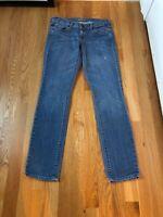 OLD NAVY The Diva Skinny Stretch Medium Blue Denim Jeans Womens Size 2 Regular