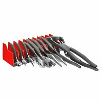 Pliers Rack Tool Drawer Storage Organizer Holder Metal Craftsman Tolbox Garage
