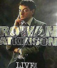 Rowan Atkinson DVD Mr Bean Live Stand Up Comedy