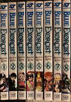 Blue Exorcist 1-8 Manga 2, 3, 4, 5, 6, 7 Graphic Novel Viz Action English