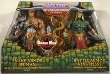 Masters Of The Universe Classics Snake Armor He-Man & Battle King Hssss Mailer