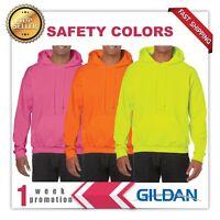 GILDAN Adult Heavy Fleece BLANK Hooded Sweatshirt Hoodie G18500 1 WEEK  SALE!