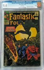 Fantastic Four 52 2006 REPRINT Black Panther CGC 9.4 - Marvel's Greatest Comics