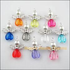 10 X Mini Amor Corazón Plata Tibetana Encanto Colgante encontrar grano fabricación de joyas
