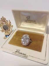 EXTRAORDINARY GIANT 20 CT SUPER SPARKLING LAB DIAMOND RING, PRINCESS SONA, VVS D