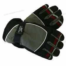 New Women's Ski Gloves Winter Snow Insulated Waterproof Warm One Size Fits Most