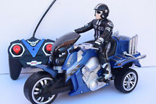 1/10 RC  DRIFT MOTORCYCLE RECHARGEABLE RADIO REMOTE CONTROL BIKE CAR + FIGURE