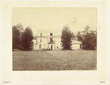 Albuminée 16,5x22cm : Moizan , Belle demeure à Paimpol , Bretagne , vers 1880