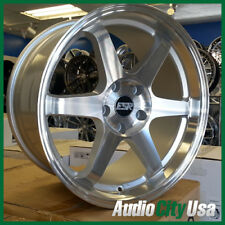 18x8.5 ESR SR07 WHEEL 5-114 et+30 Machine FIT Civic Accord CR-V  4pc