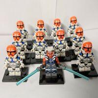 Star Wars The Clone Wars Ahsoka Tano 332nd Clone Trooper Lot - USA SELLER