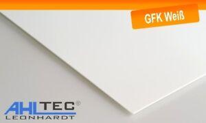 GFK Platte G10 FR4 weiß Glasfaser / Dicke 1,0 mm / Größe wählbar