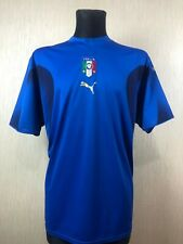 ITALY 2006 HOME FOOTBALL SOCCER JERSEY MAGLIA PUMA ADULT SIZE XL