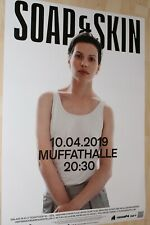 Soap & Skin - Tourplakat/Tourposter 2019 Muffathalle München - NEU