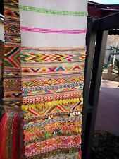 Hand embroidered vintage belt, bride's ethnic handmade belt