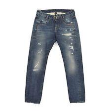 TAKESHY KUROSAWA Herren Hose Gr.32 W32 L30 blau Trousers Jeans Men Pants wie NEU