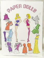 2017 National Barbie Doll Convention Exclusive Paper Doll Book Mattel New