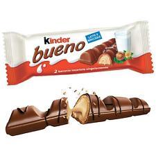 6 X Kinder Bueno Chocolat 2 Barres Emballés Individuellement 43 Gr Noisette