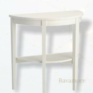 """IKEA ARKELSTORP Console table, White 31 1/2x15 3/4x29 1/2 """" SOLID WOOD"""