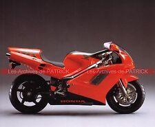 HONDA 750 NR 1991 Fiche Moto 000072