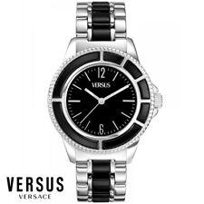 Versus by Versace AL13LBQ809A999 Tokyo schwarz silber Armband Uhr Herren NEU