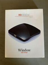 XD Design Window Solar Charger - Dark Blue, unused