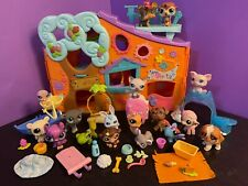 Littlest Pet Shop - Pets Only Clubhouse - Playset Lot with Pets & Accessories #1