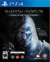 Middle Earth: Shadow of Mordor Game of the Year - Sony PlayStation 4