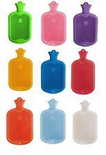 Premium Wärmflasche Sänger Wärmeflasche Naturgummi 2 Liter XL viele Farben