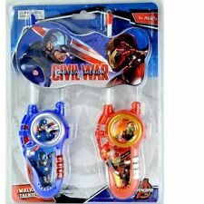 Iron Man Captain America 3-4 Years Action Figures