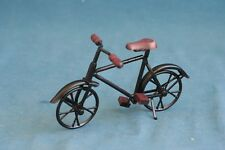miniature black bicycle 1:12 for doll Dollhouse Accessory