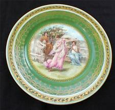 Antique IMPERIAL CROWN Austria Mythological Scene by ALMA TADEMA Cabinet Plate