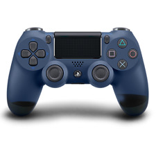 PlayStation DualShock 4 Wireless Controller - (Midnight Blue)