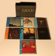 Eagles - 7 Mini LP CD Japan 2004 + Promo-Box VERY RARE OUT-OF-PRINT NMINT Henley