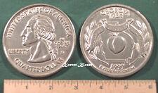 "Big 3"" Inch Metal Coin Replica of a 1999 Issue Georgia State Quart - Paperweight"