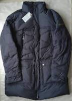 """Trussardi """"Lusia"""" men's down long jacket size XL/54 - concealed hood"""