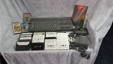 UNTESTED Sinclair ZX Spectrum+2 Console with Games, Accessories Grade B For Part