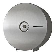 Toilettenpapierspender Toilettenpapierhalter Edelstahl matt für Jumborollen